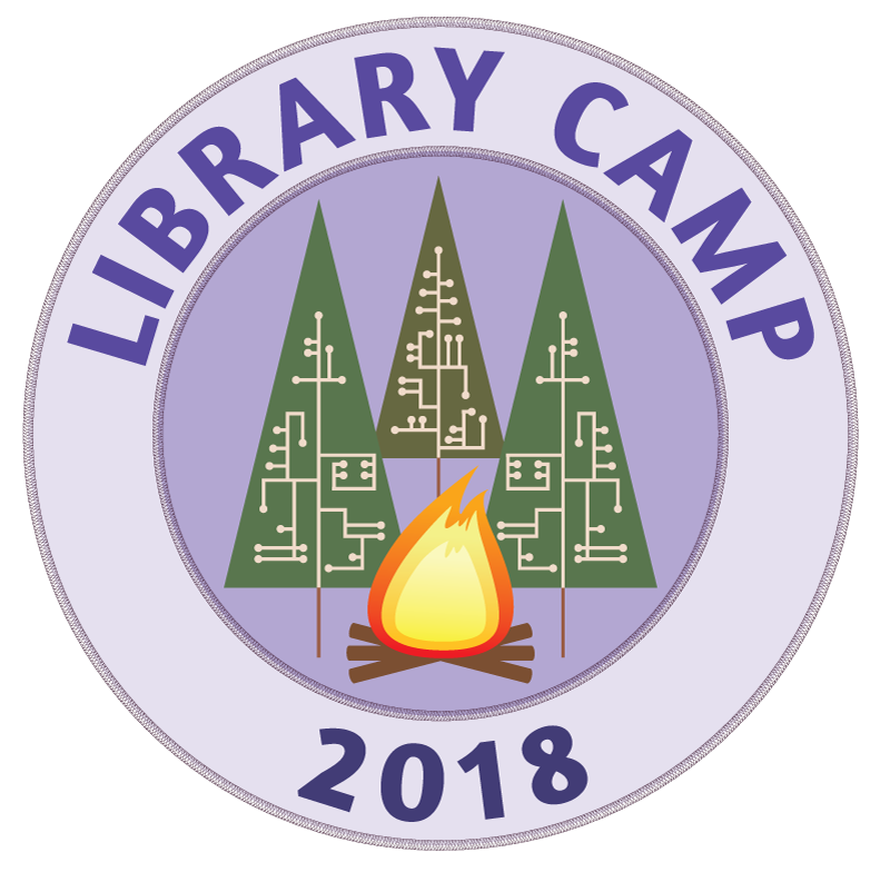 Library Camp 2018 logo