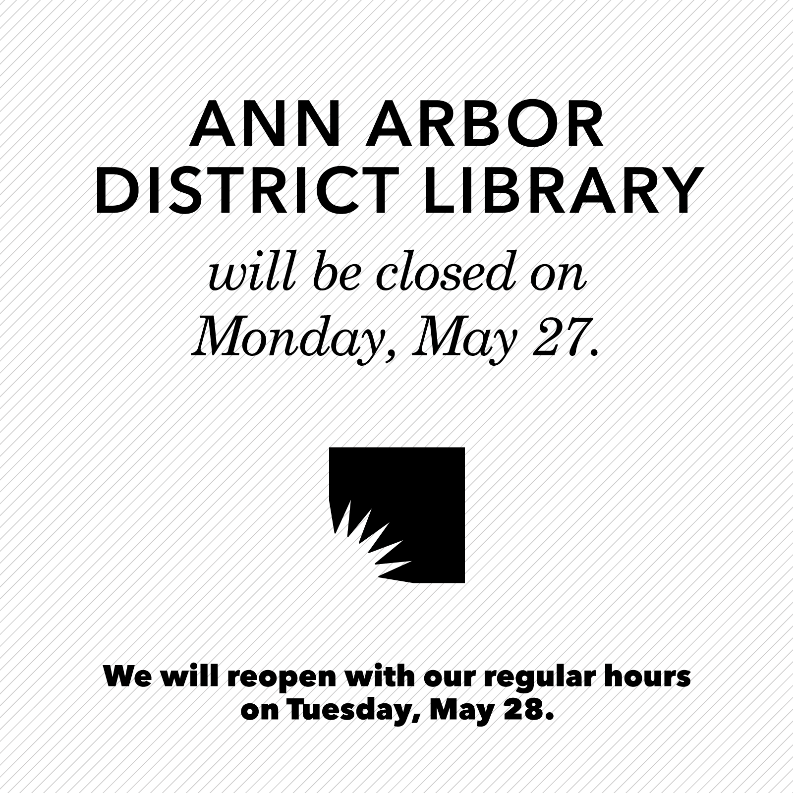 Closed May 27, 2019