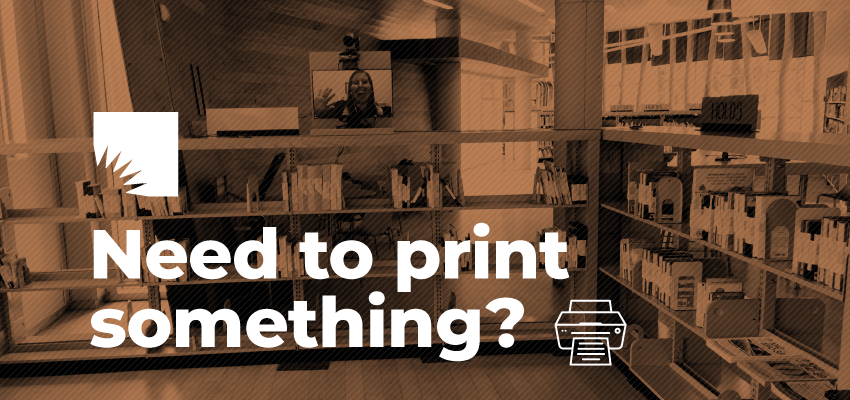 need to print something?