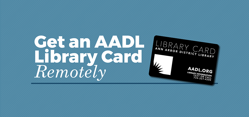 get your library card remotely