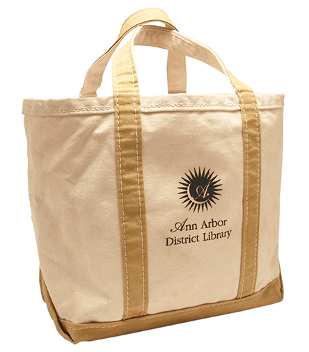 AADL Used Canvas Tote