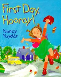 cover of First Day Hooray child jumping