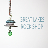 great lakes rock shop logo