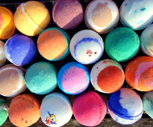 handmade bath bombs