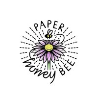 paper honey bee logo