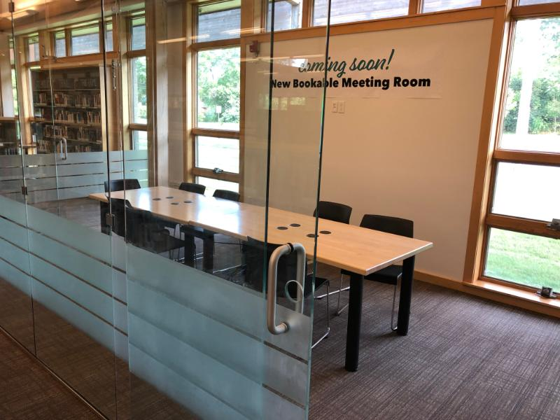 River Birch Meeting Room at Malletts Creek Branch