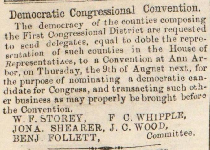 Democratic Congressional Convention image