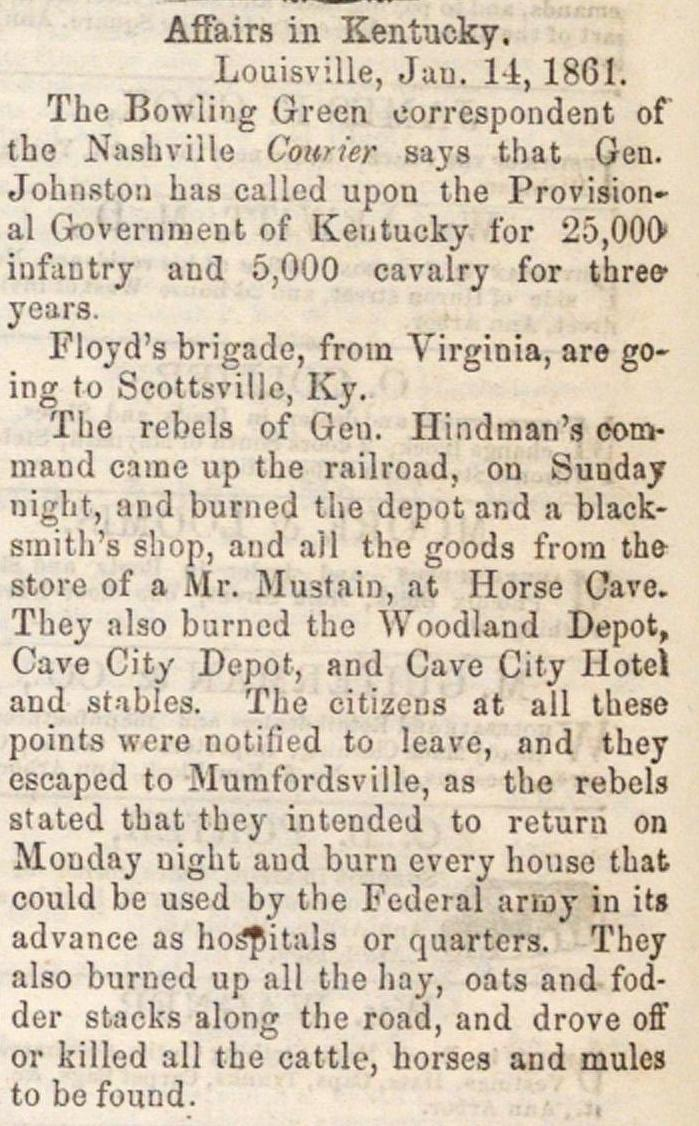 Affairs In Kentucky image