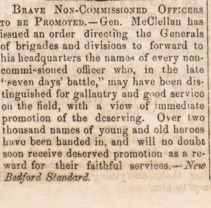 Brave Non-commissioned Officers image
