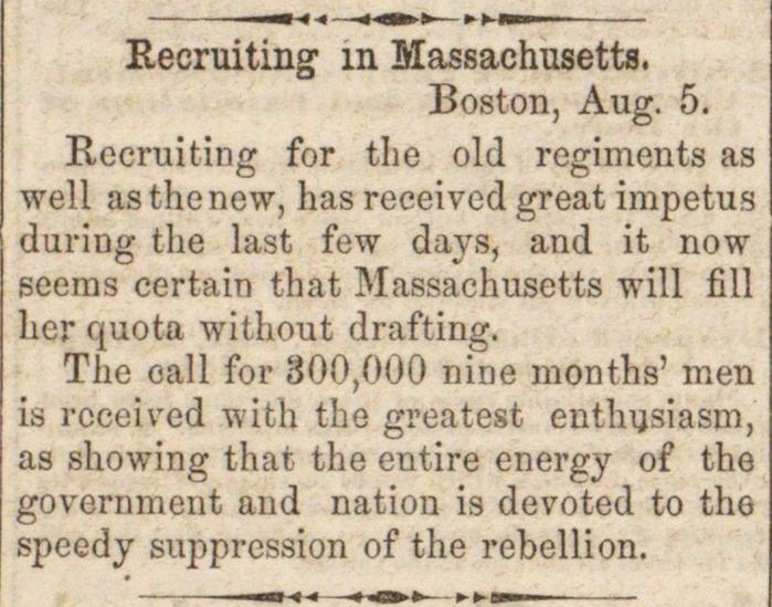 Recruiting In Massachusetts image