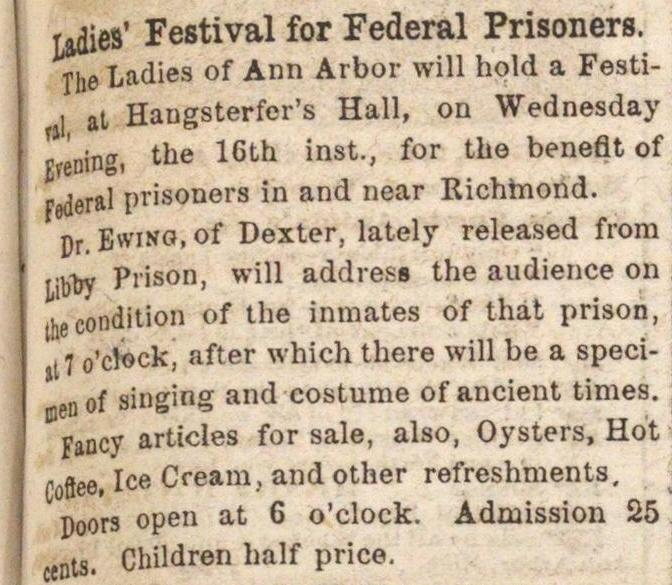 Ladies' Festival For Federal Prisoners image