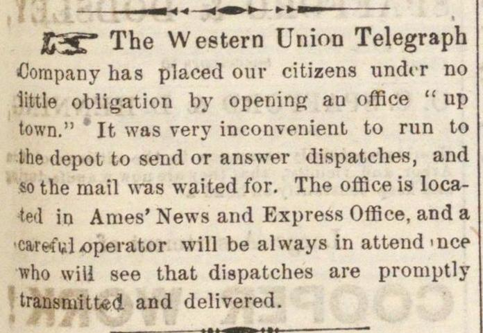 The Western Union Telegraph image