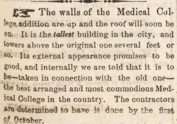 The Walls Of The Medical image