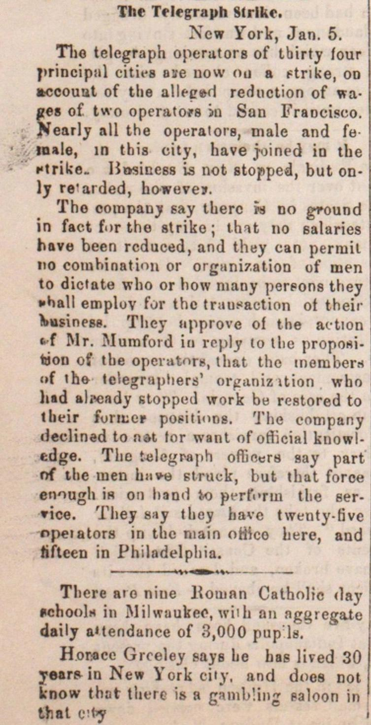 The Telegraph Strike image