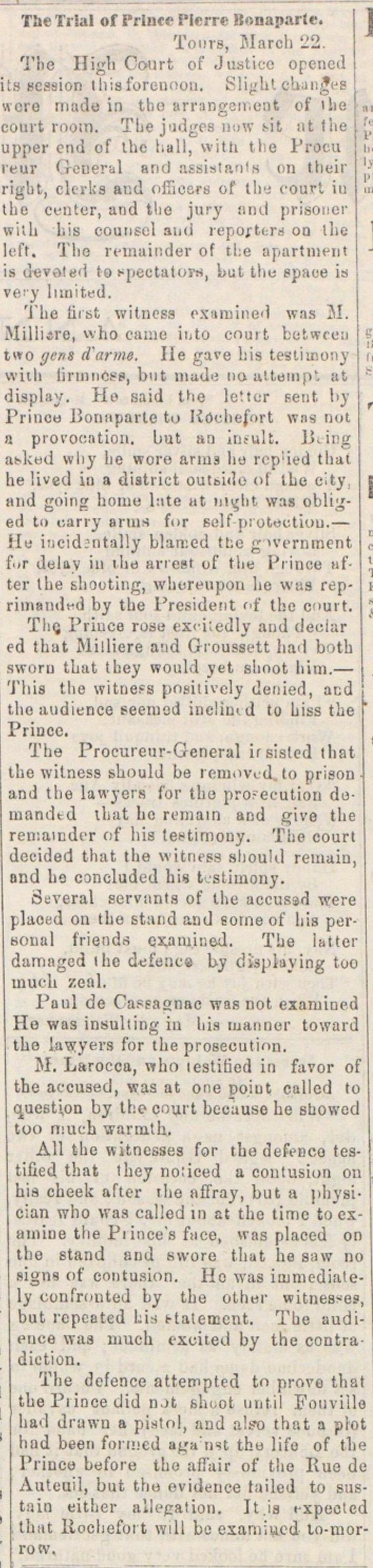 The Trial Of Prince Pierre Bonaparte image