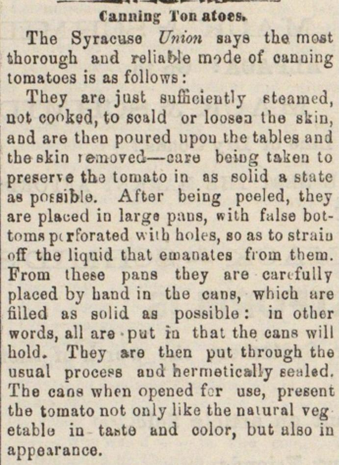 Canning Tomatoes image