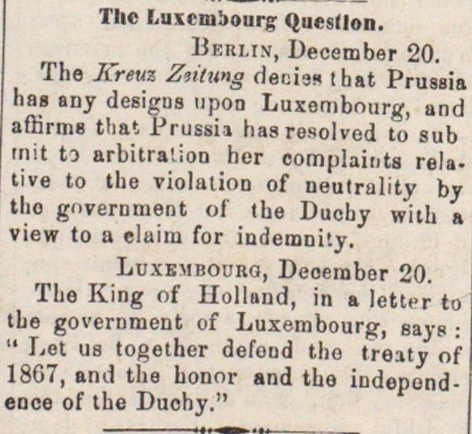 The Luxembourg Question image