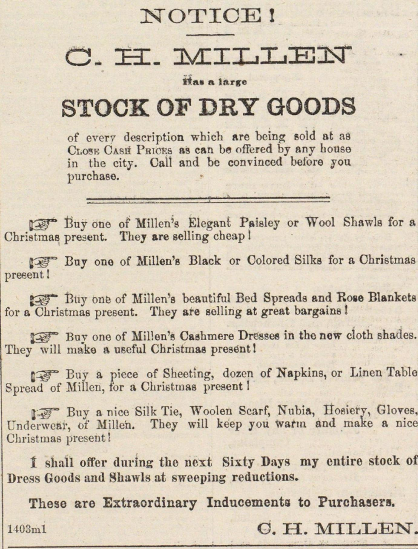 Stock Of Dry Goods image