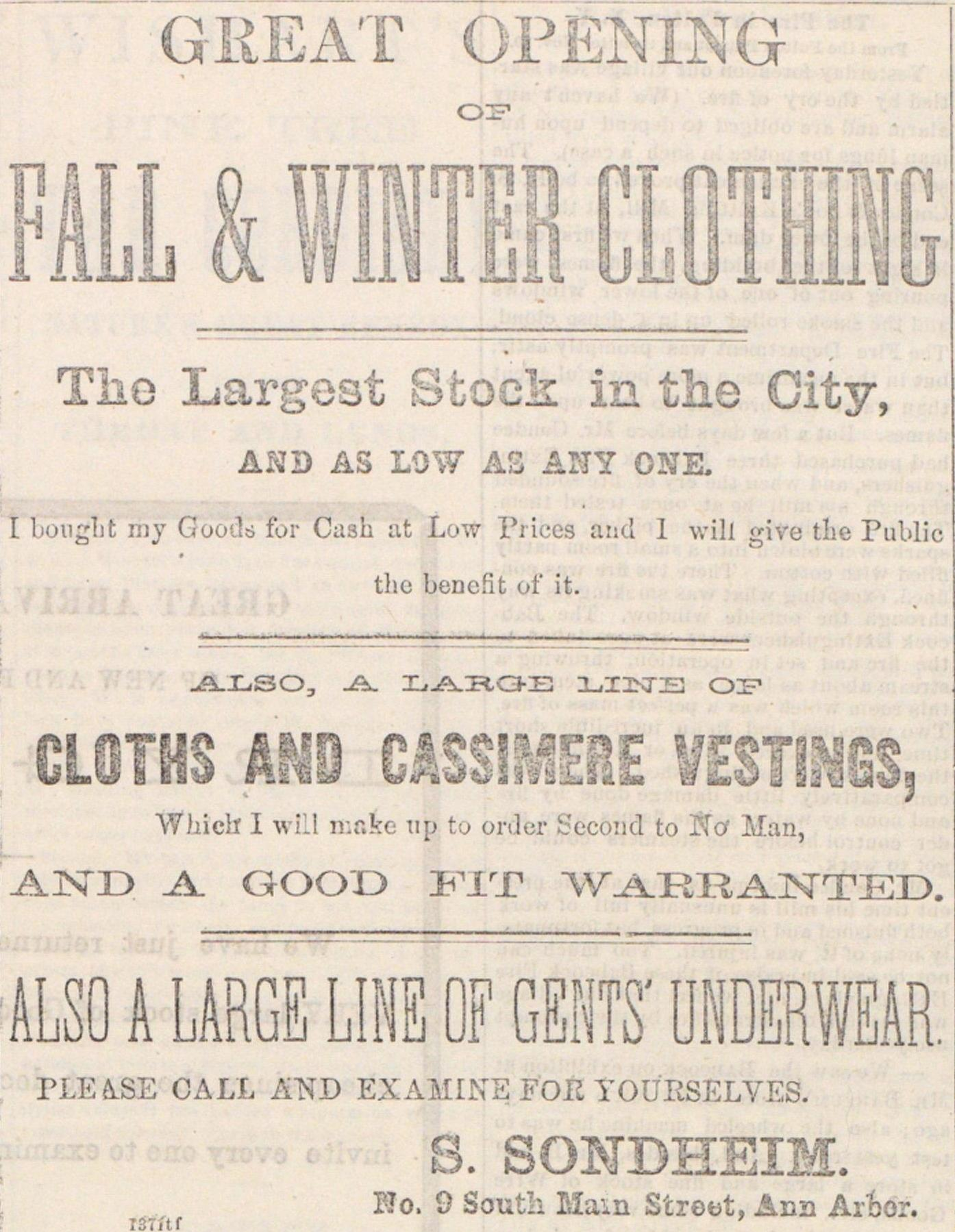 Fall & Winter Clothing image