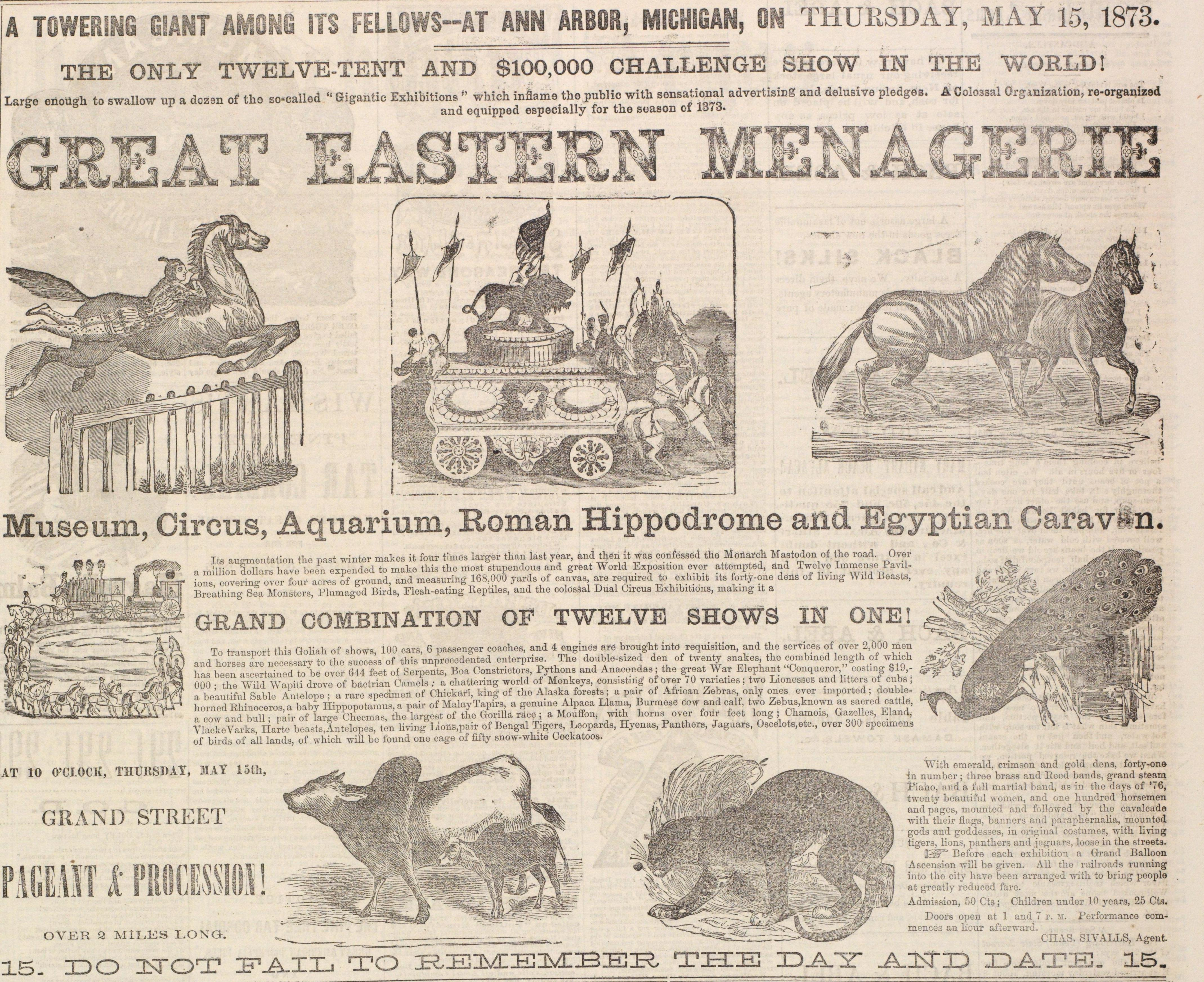 Great Eastern Menagerie image