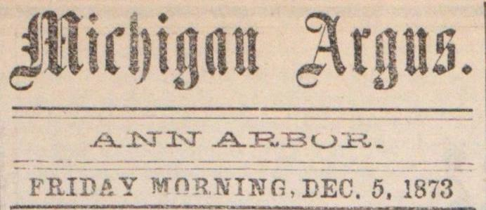 Michigan Argus image