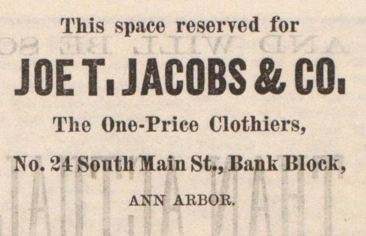 Joe T. Jacobs & Co. image