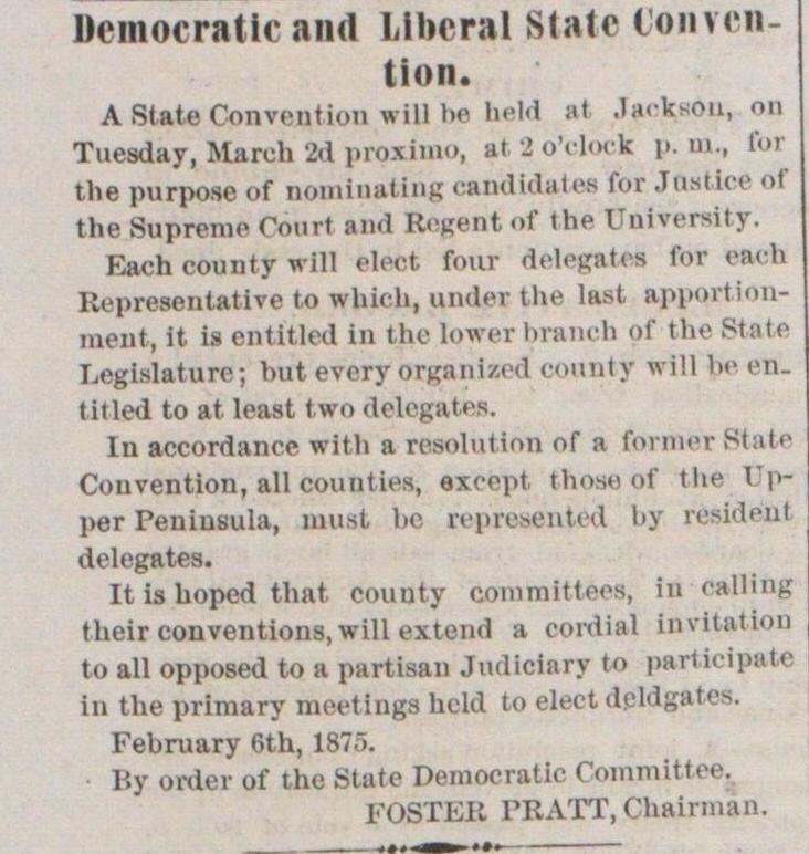 Democratic And Liberal State Convention image