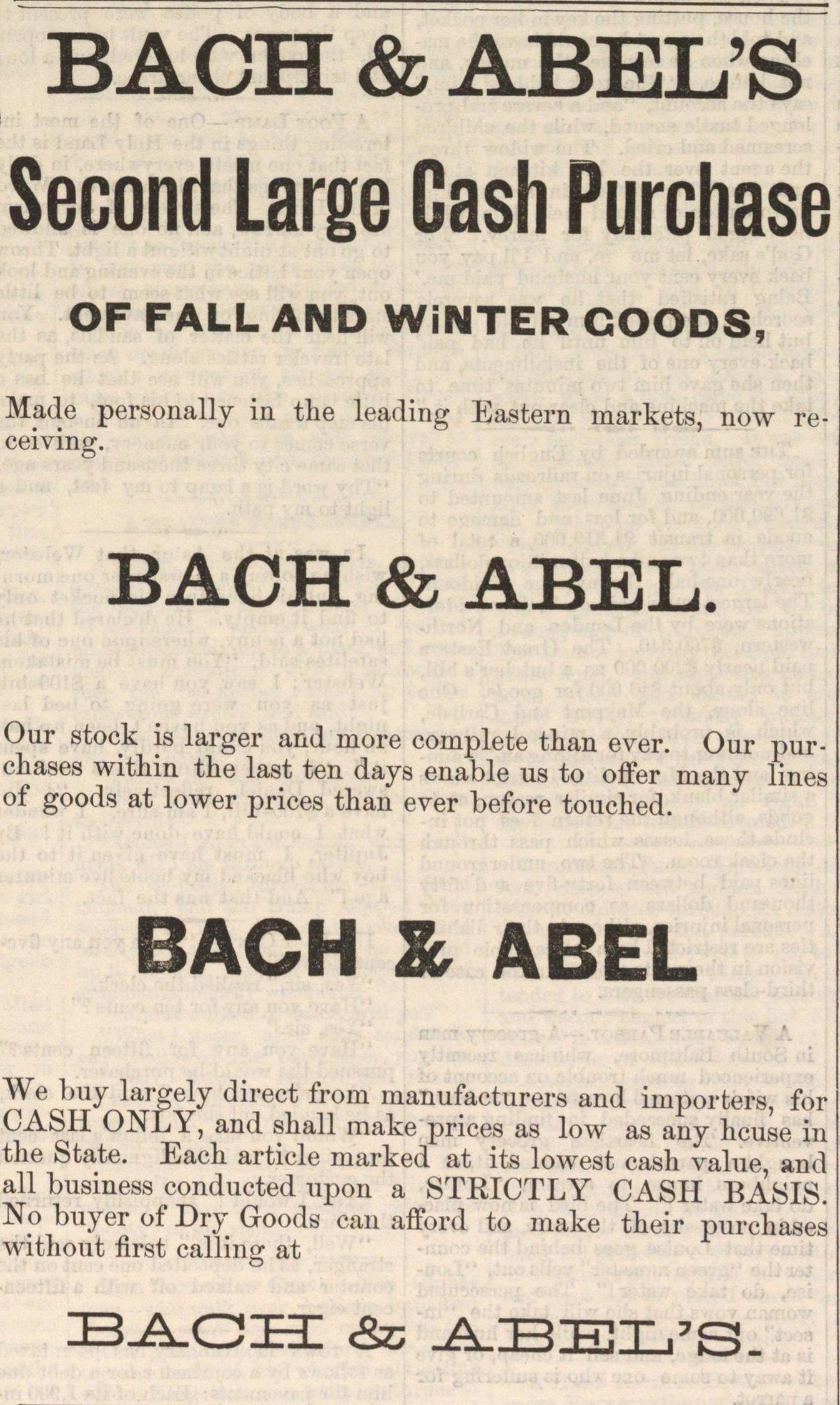 Bach & Abel's image