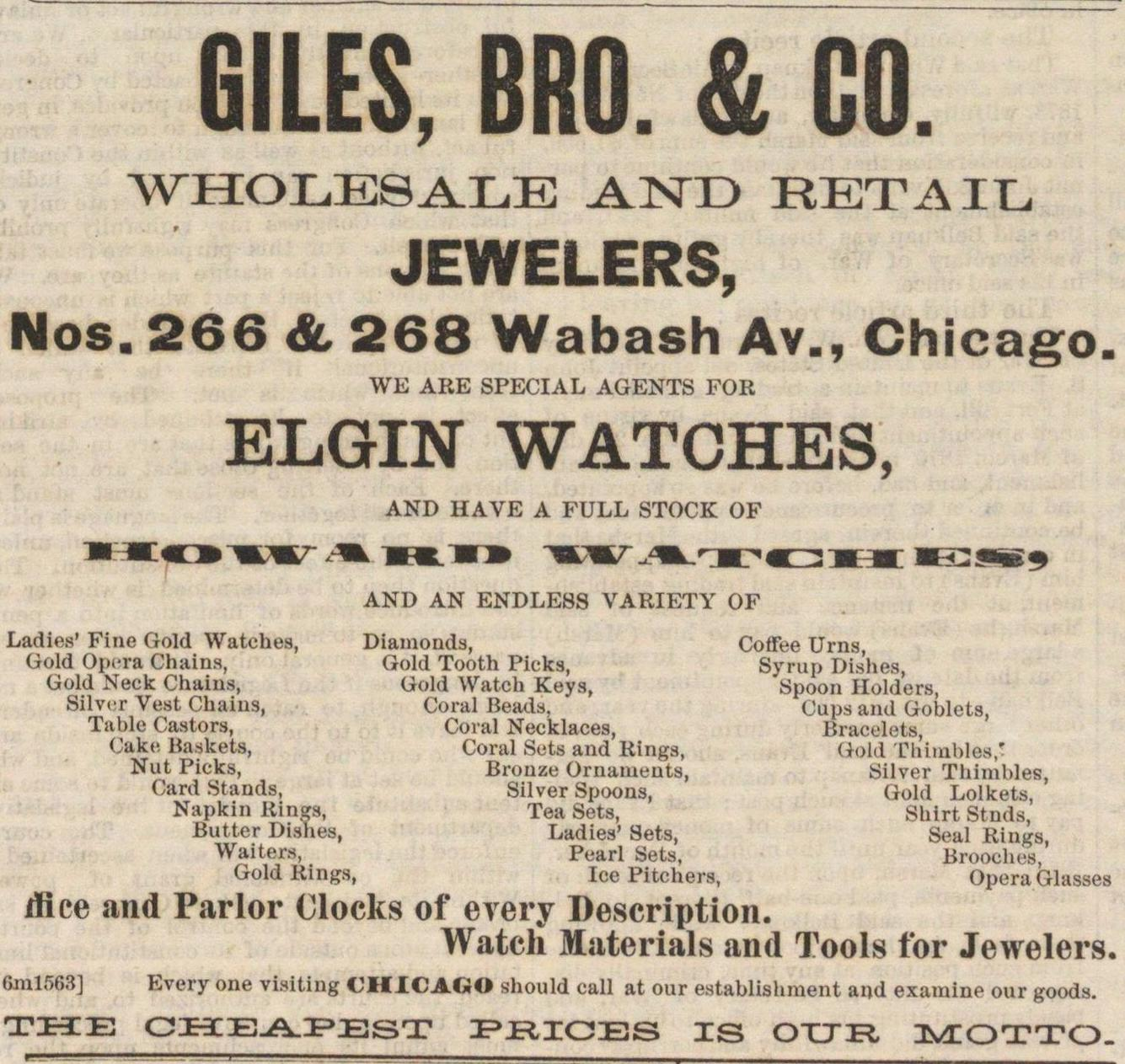 Giles, Bro. & Co. image