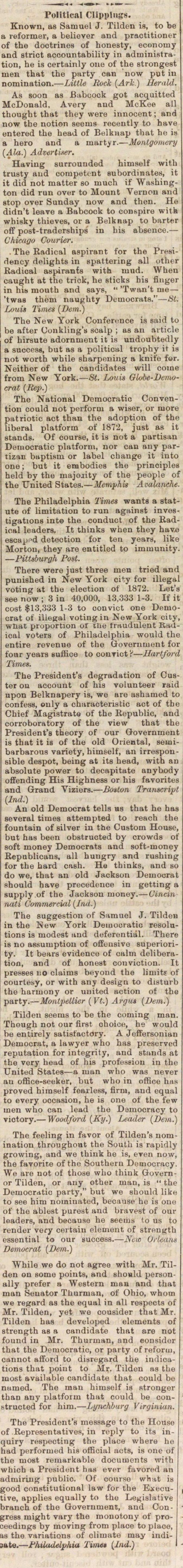 Political Clippings image