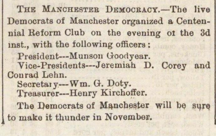The Manchester Democracy image