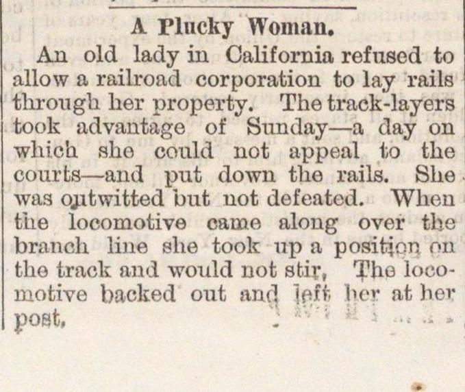 A Plucky Woman image