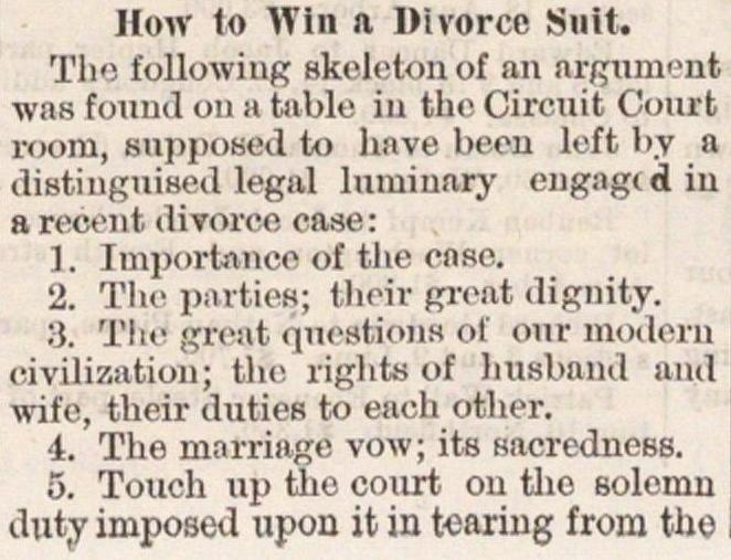 How To Win A Divorce Suit image