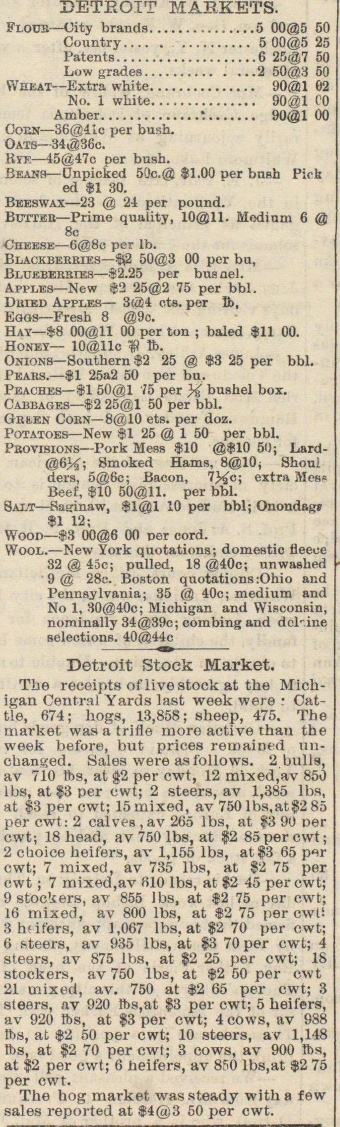 Detroit Markets image