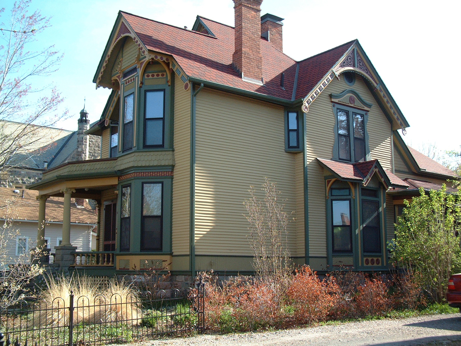 George and Emma Wahr House, 1890 image