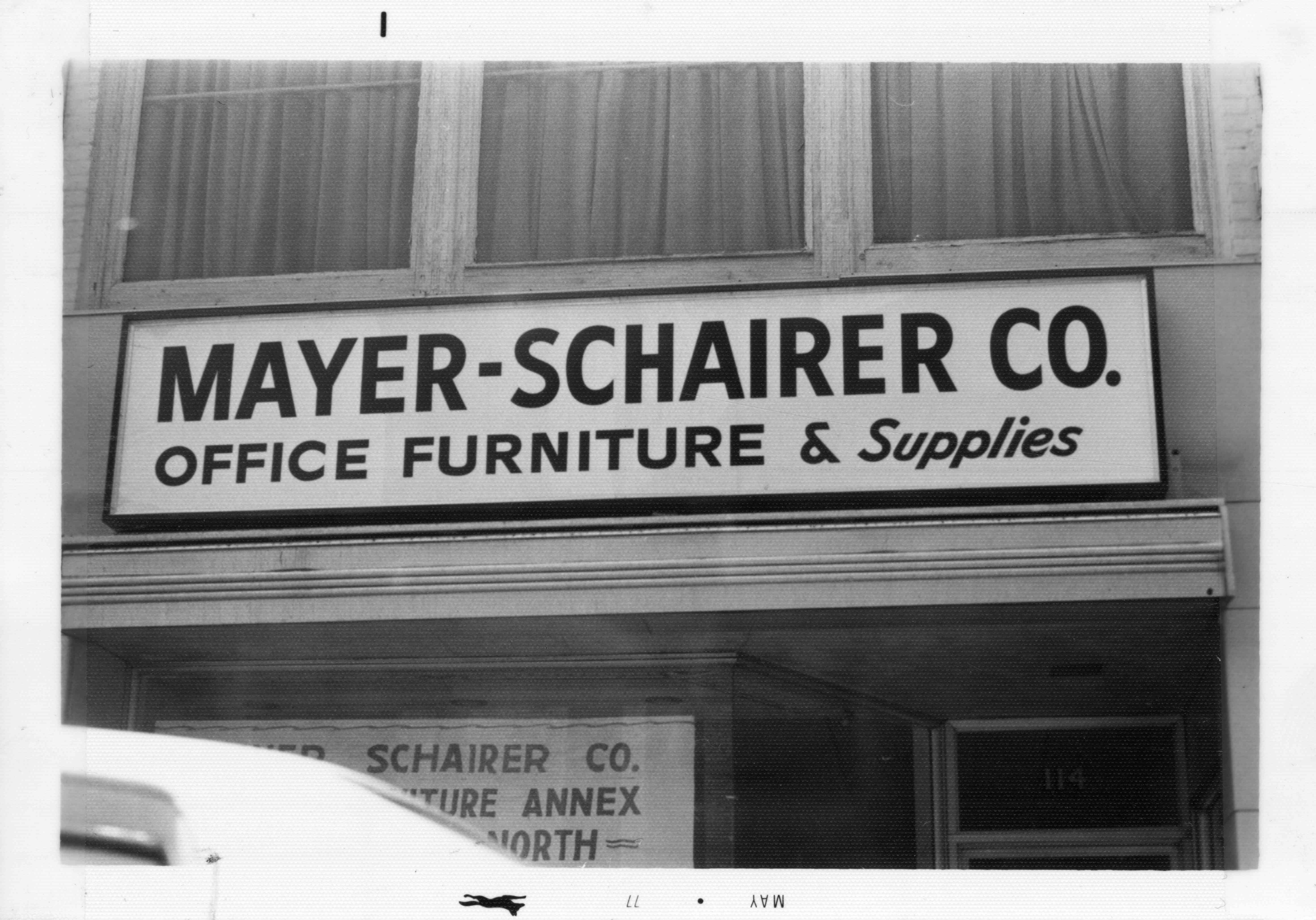 Mayer Schairer Company, 1977 image