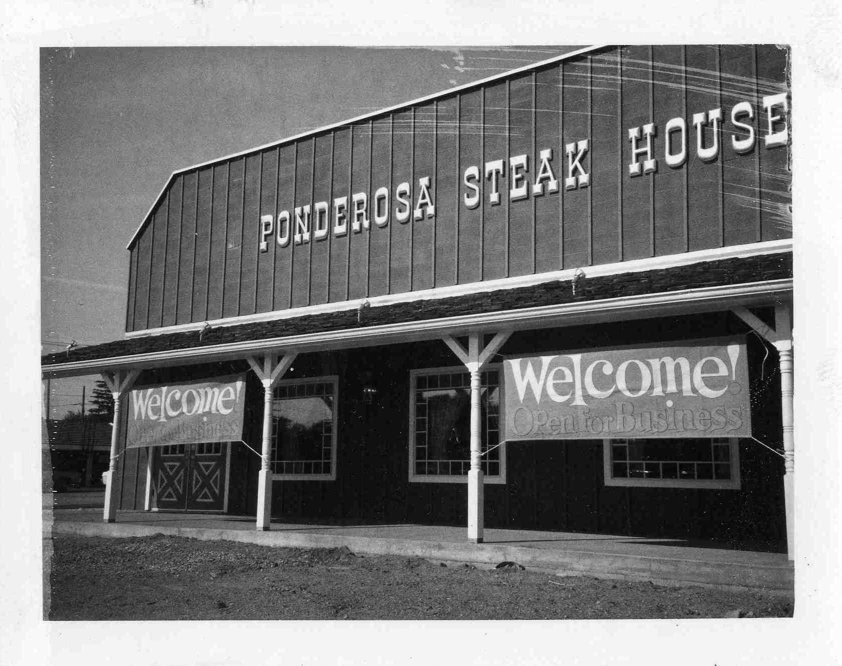 Ponderosa Steak House, 1973 image