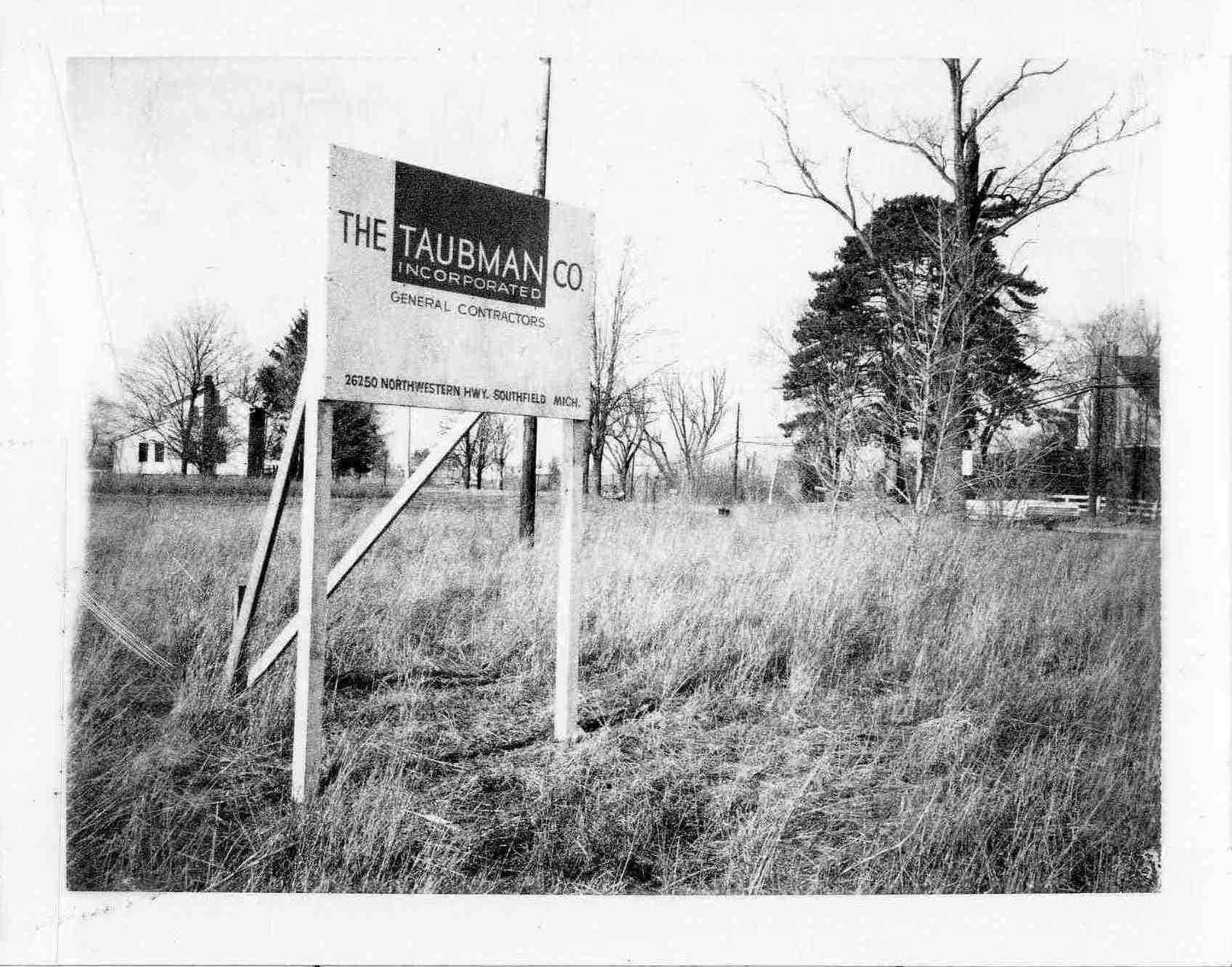 The Taubman Co. Inc, 1972 image