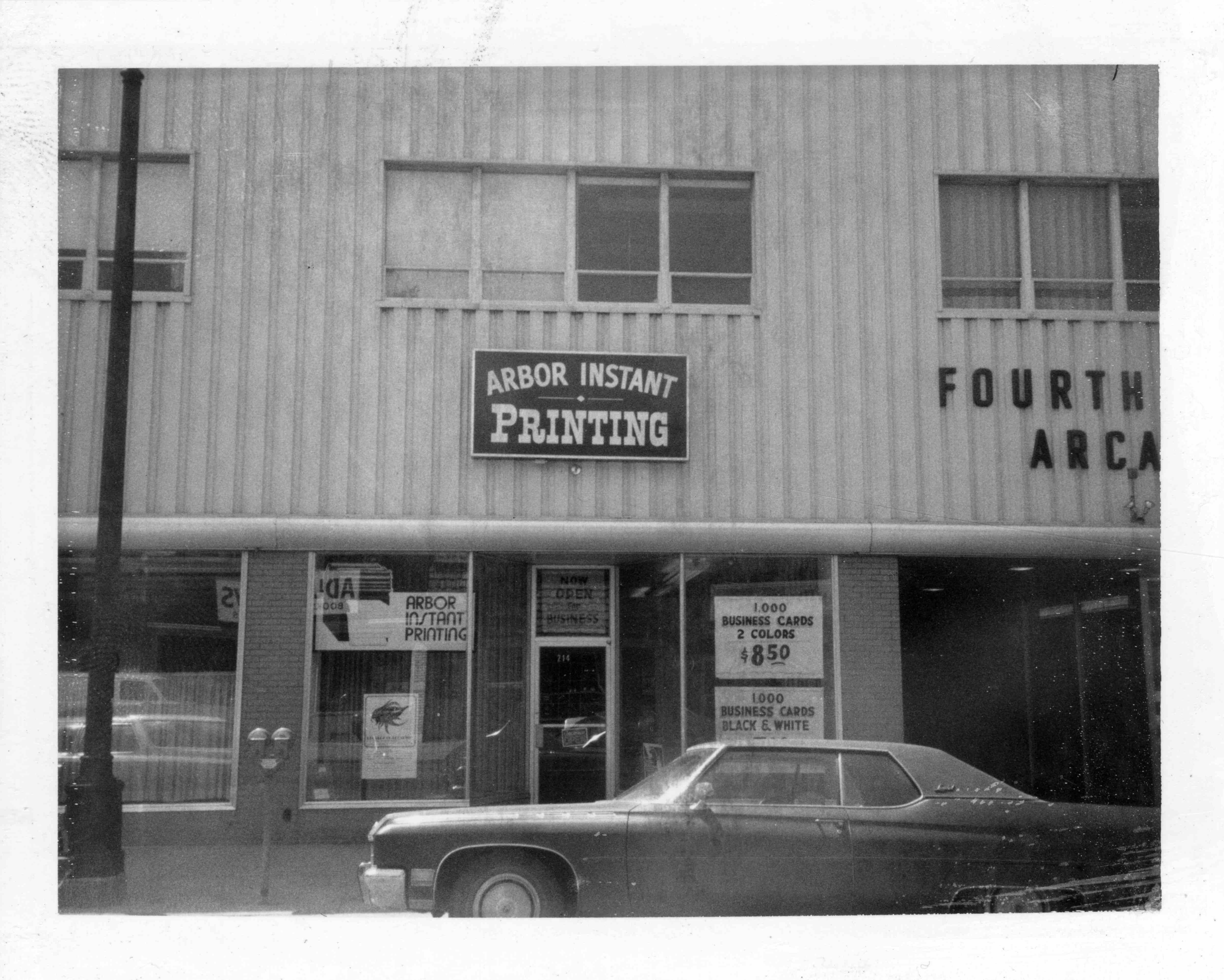 Arbor instant printing 1974 ann arbor district library arbor instant printing 1974 reheart Images