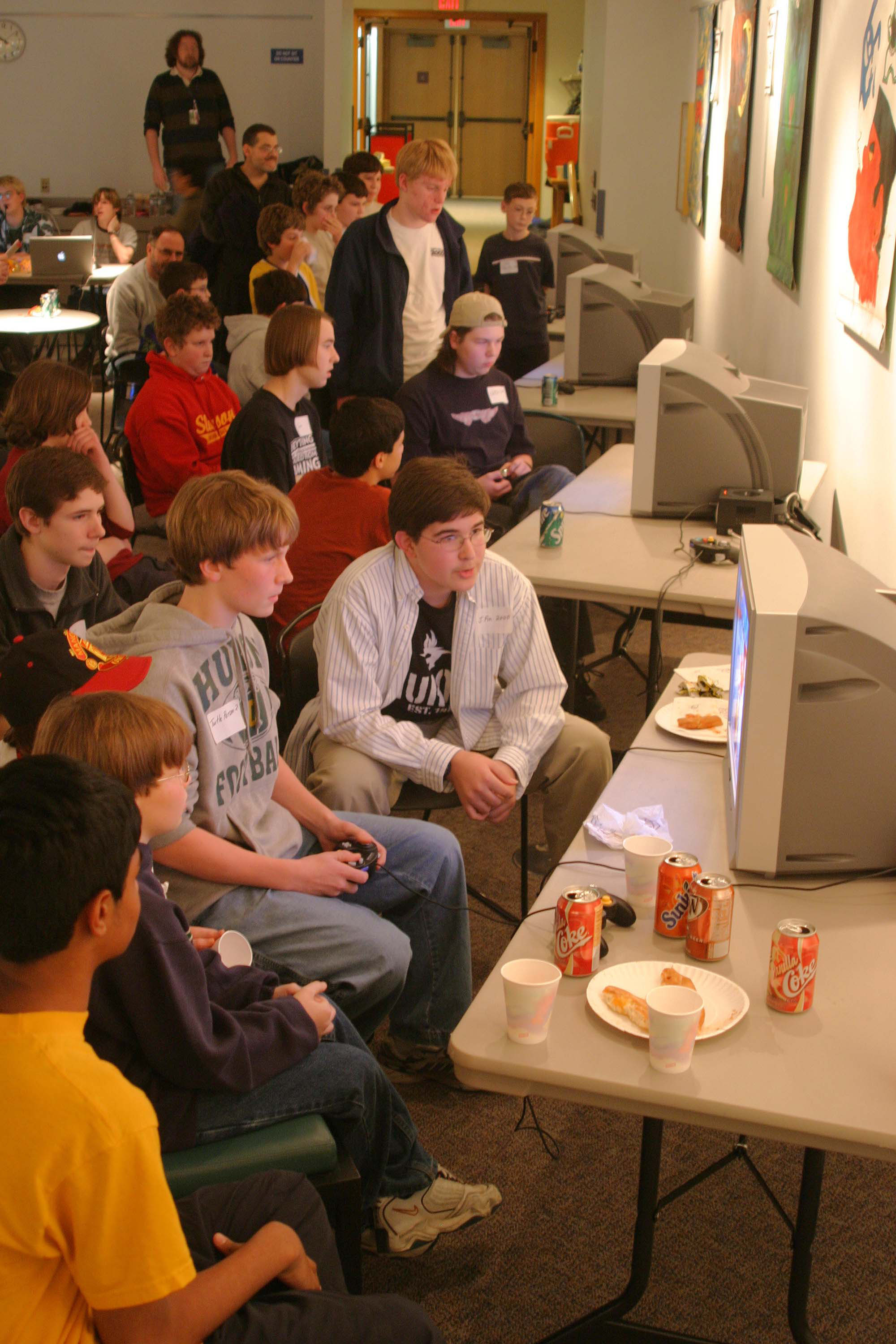 Mario Kart Competition.  December, 2004 image
