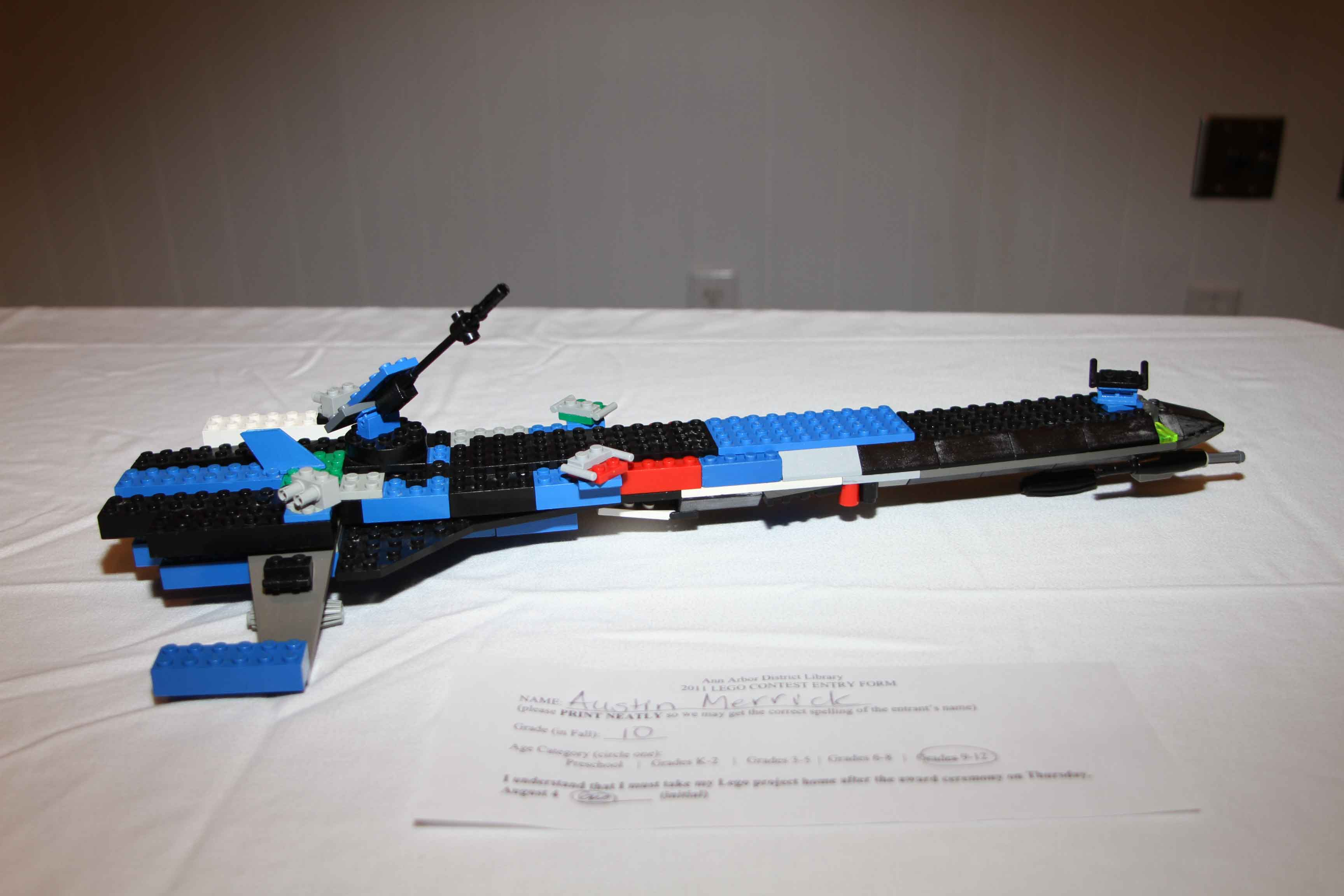EDS Scion, Best Vehicle Grades 9-12, 2011 LEGO Contest image