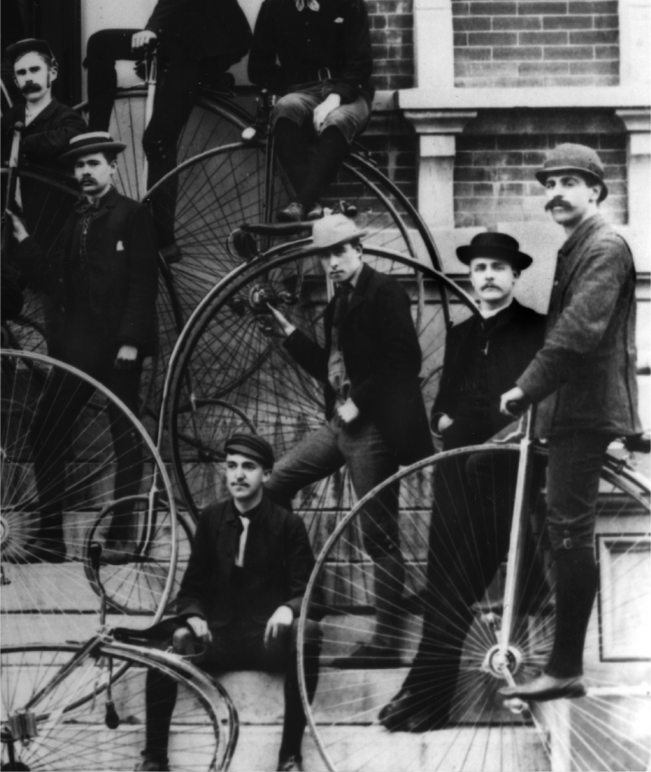 The Men's Bicycle Club, 1887 image