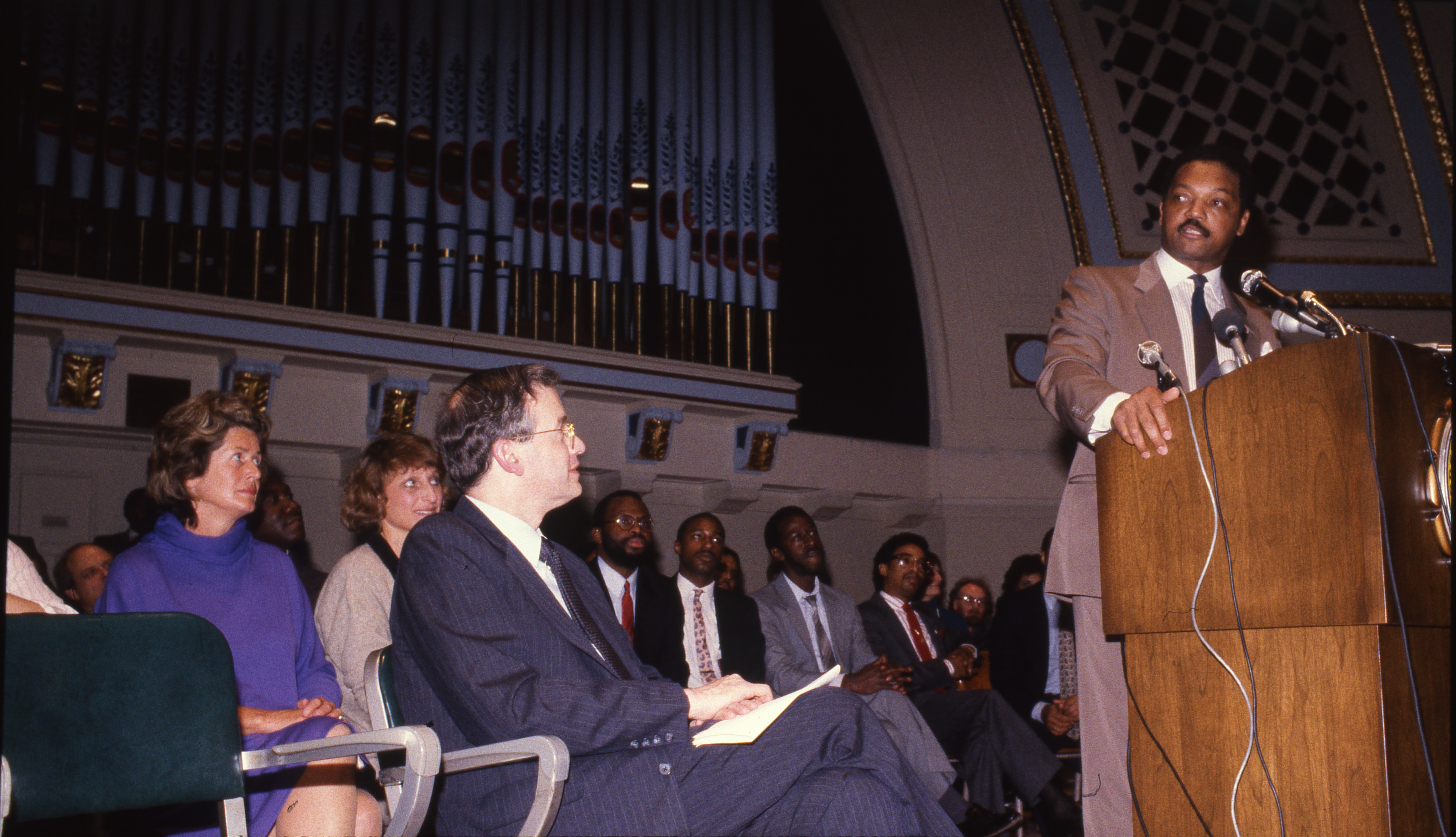 Image from Rev. Jesse Jackson Speaks At Hill Auditorium, March 24, 1987