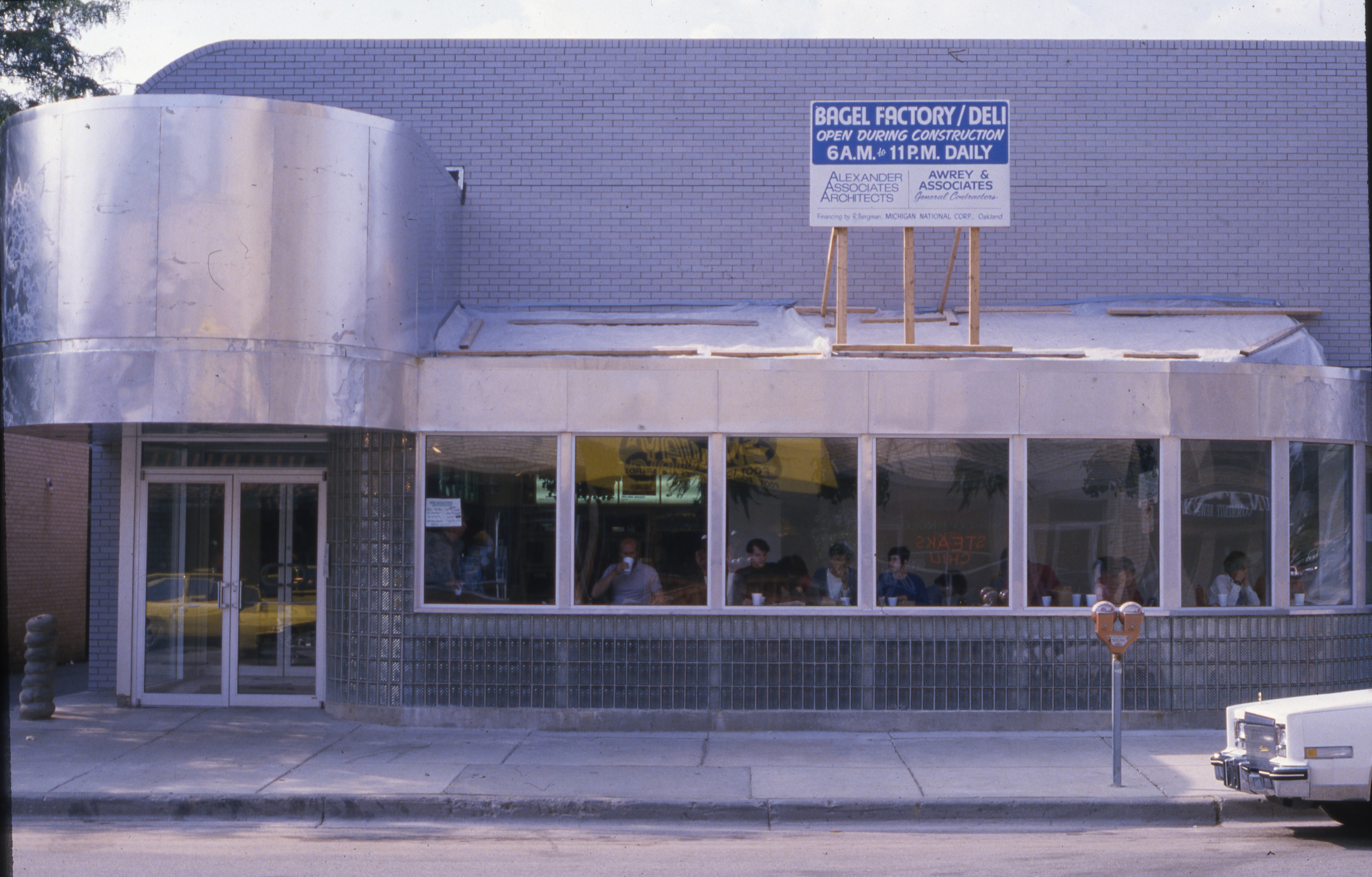 Expansion and Remodeling At The Bagel Factory, May 1986 image