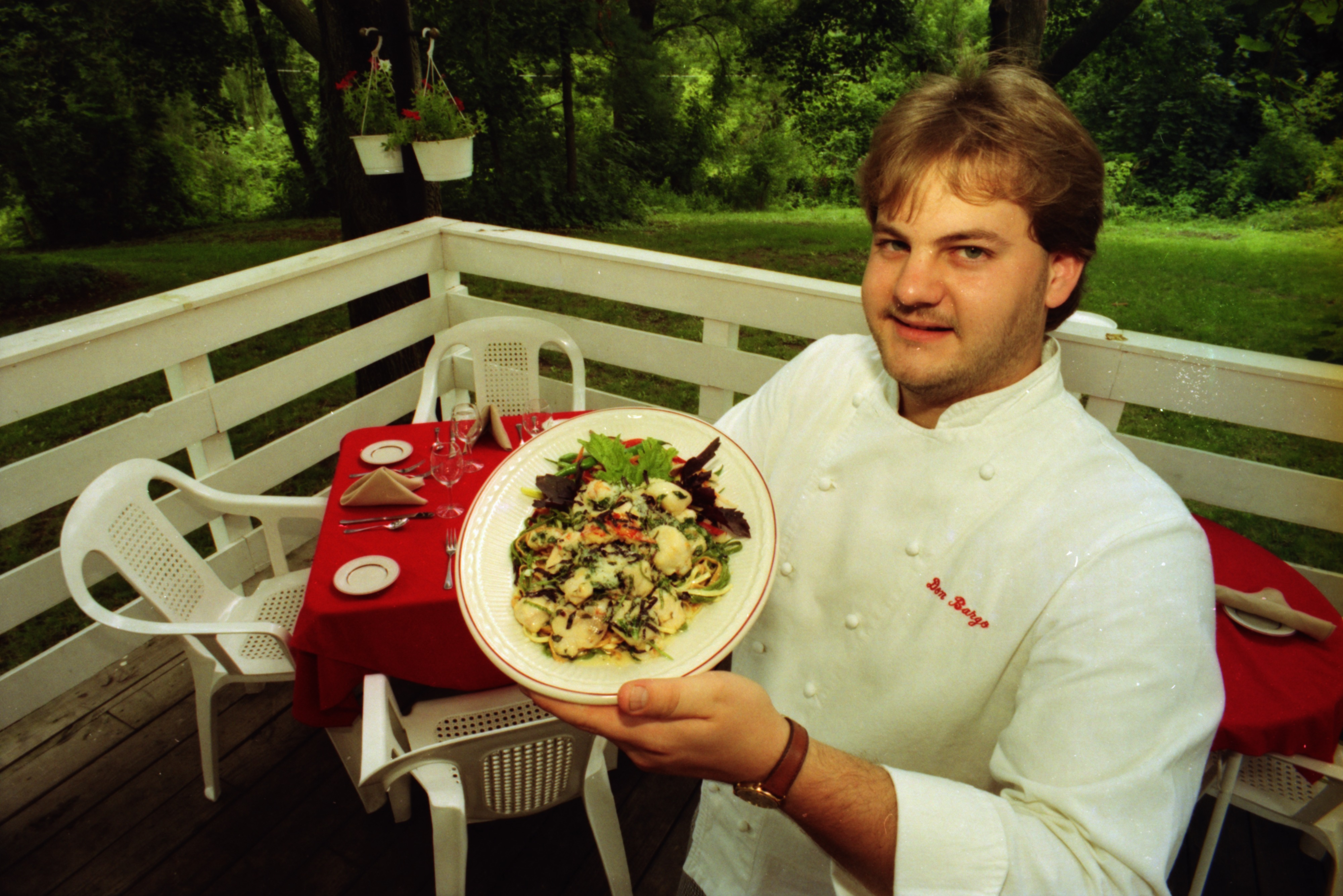 Don Bargo, Chef at The Lord Fox, July 1980 image