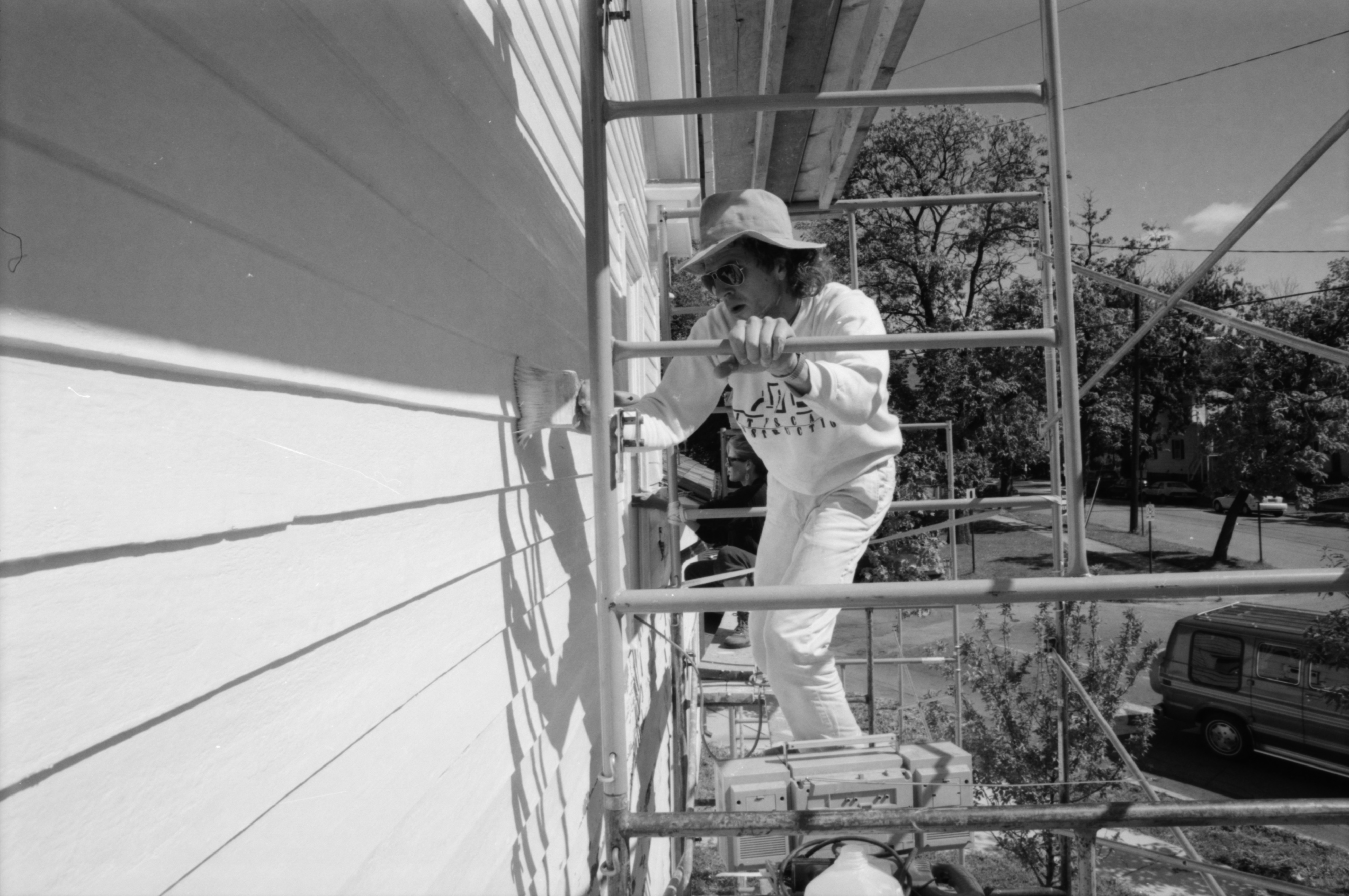 Painting the Washtenaw County Historical Society house image