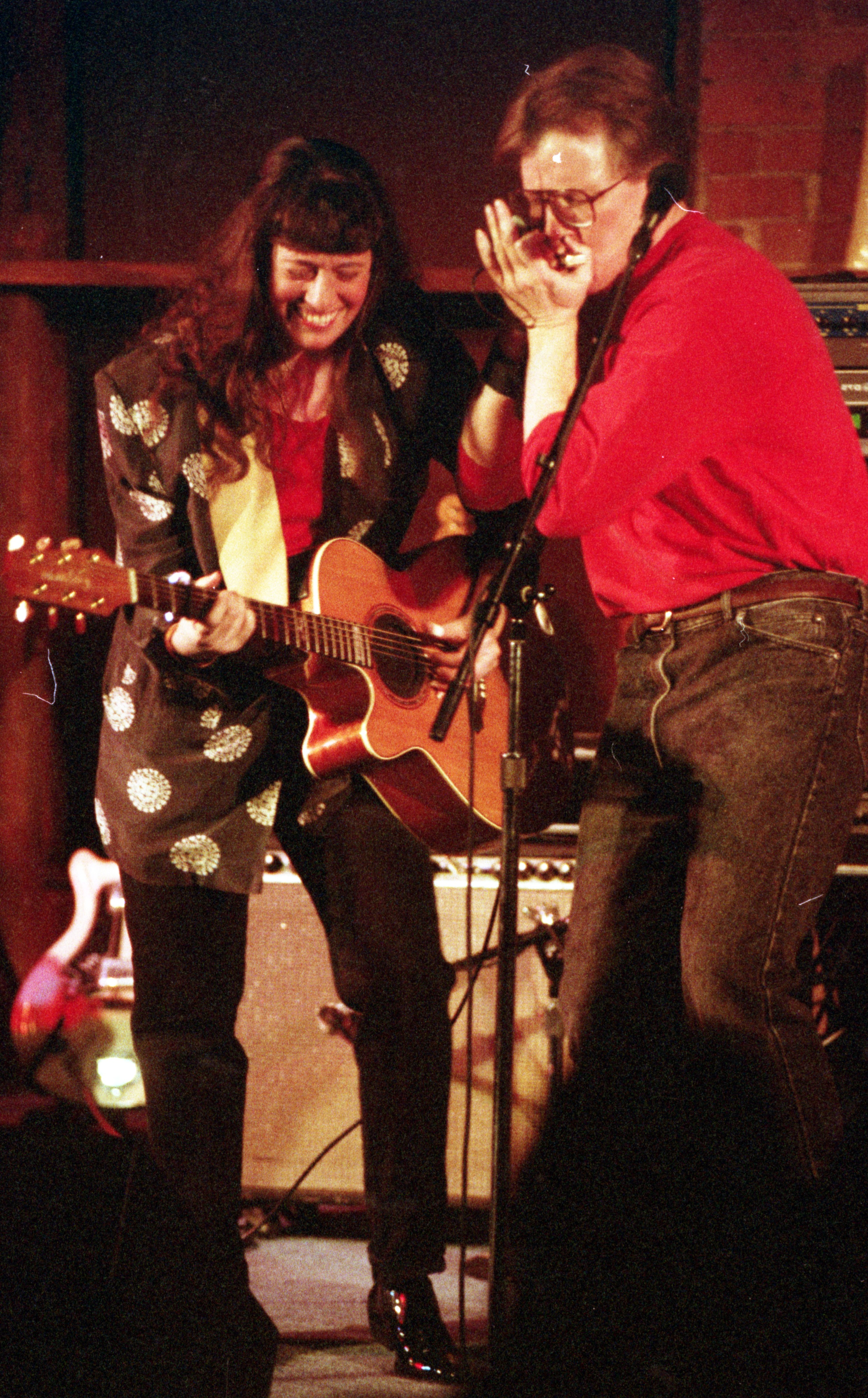 Peter 'Madcat' Ruth & Shari Kane Perform At The Ark, January 10, 1993 image