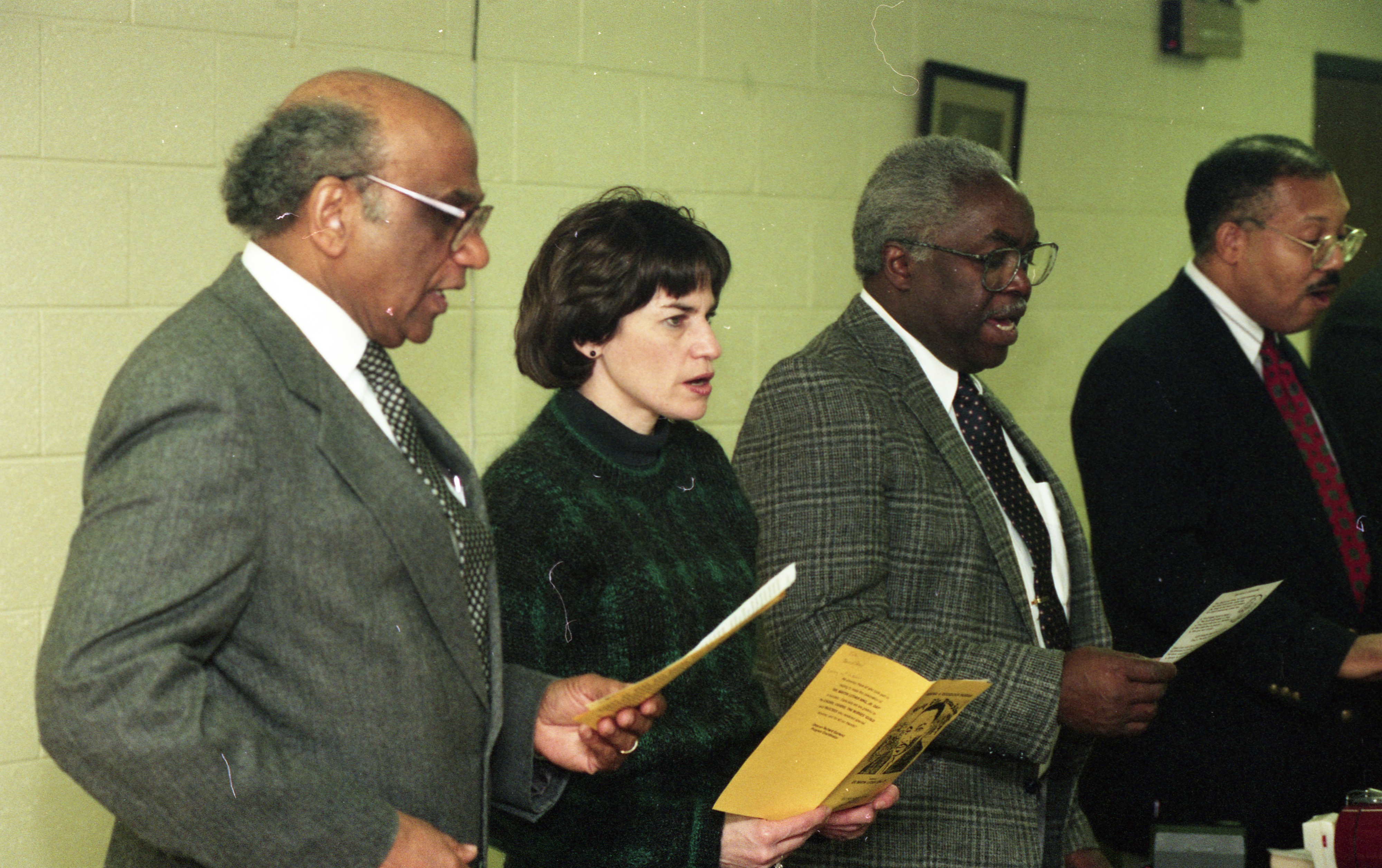 Mayor Liz Brater Joins Memorial Service At Second Baptist Church To