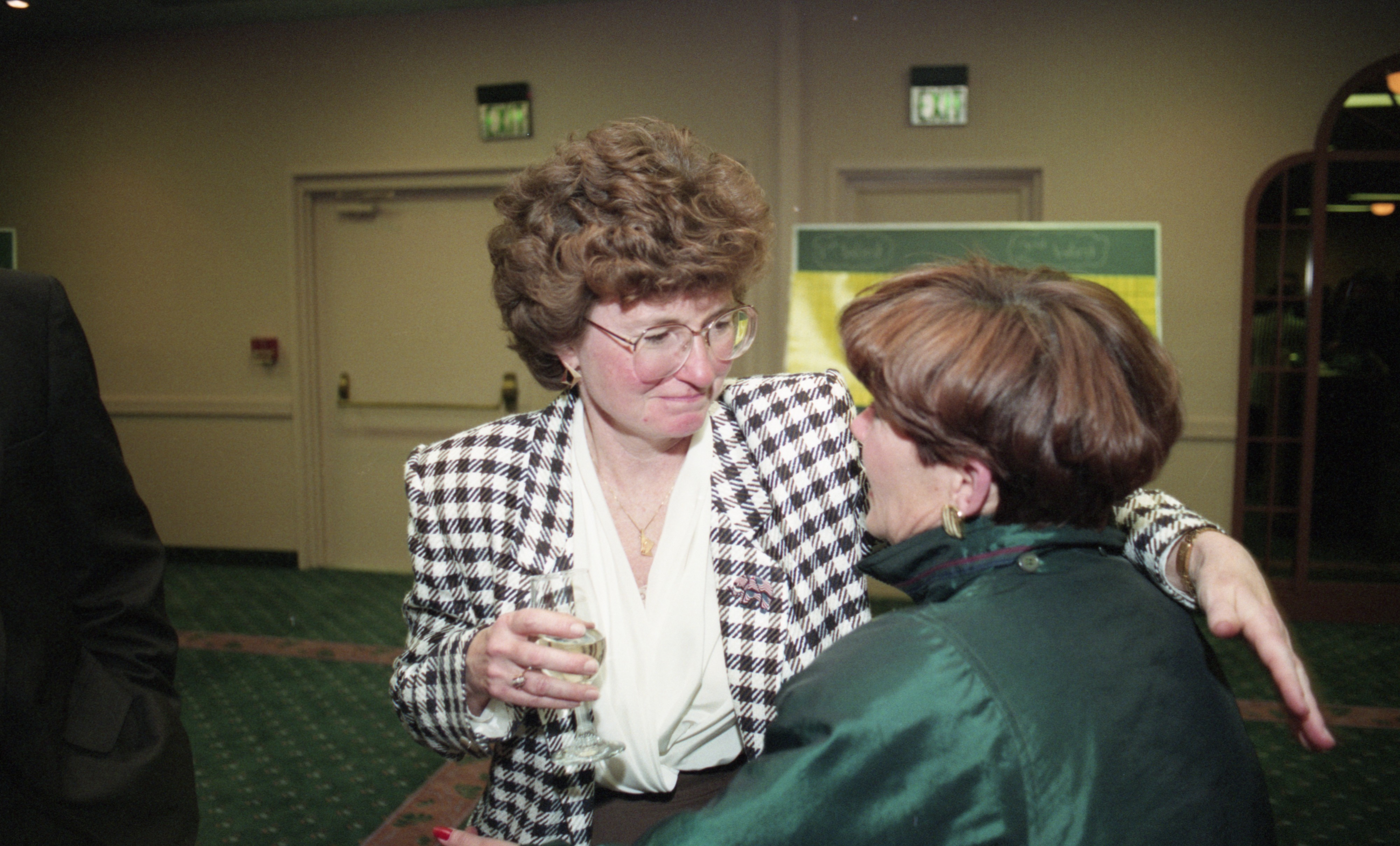 Republican Election Night Party- Ingrid Sheldon, April 1993 image