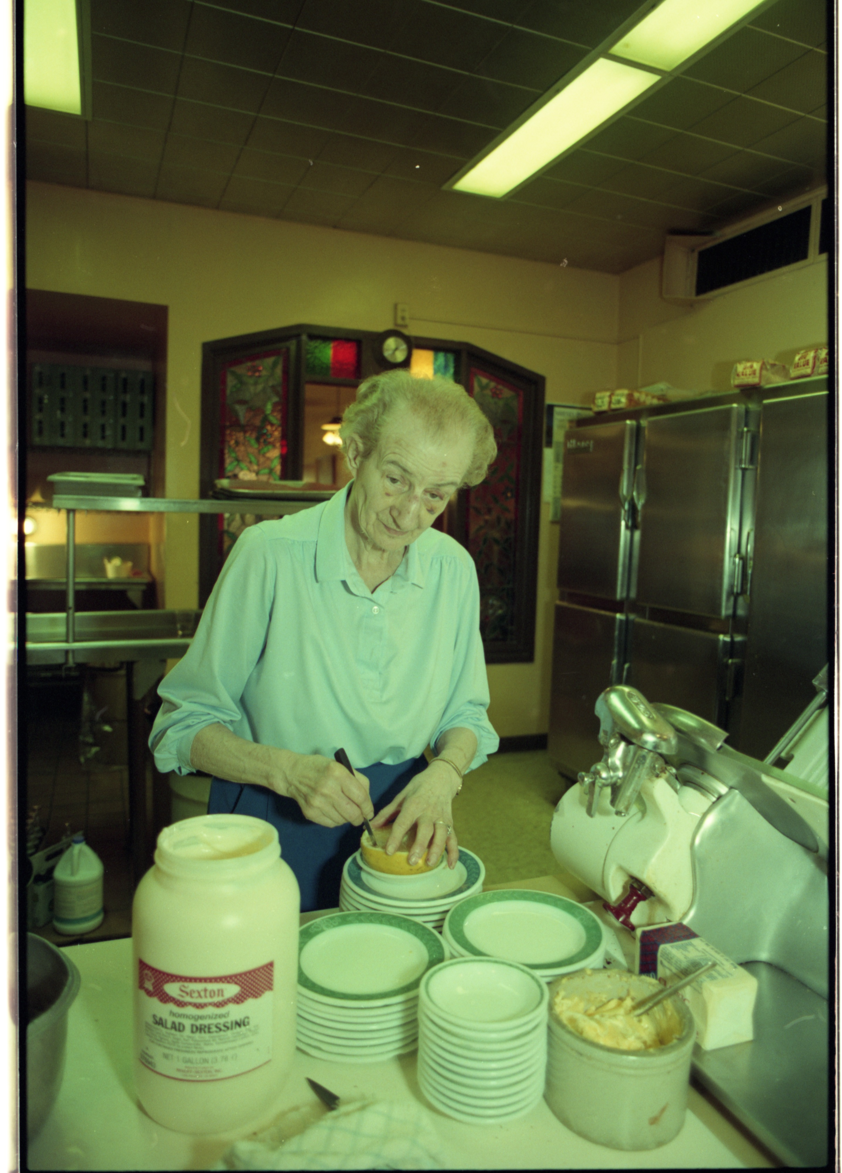 Roundtable Restaurant Owner Evelyn Stack Retiring After 50 Years, May 1993 image